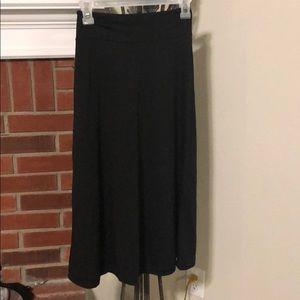 Free to Live black maxi skirt
